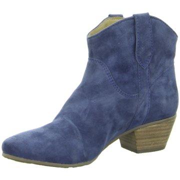 SPM Shoes & Boots Westernstiefelette blau