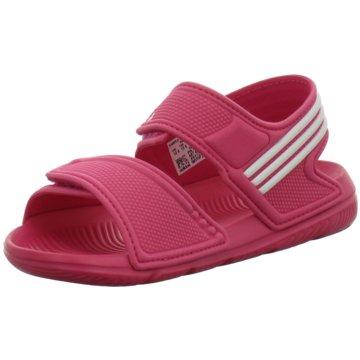 adidas Offene Schuhe rot