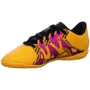 adidas Trainings- und Hallenschuh orange