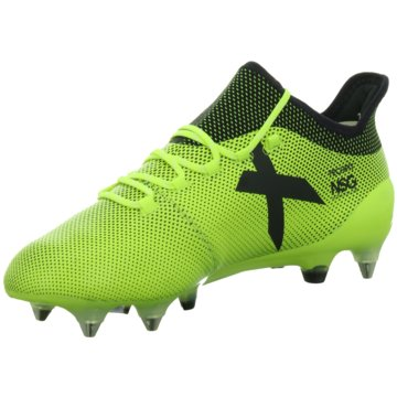 adidas Stollen-SohleX 17.1 SG Herren Fußballschuhe Stollen gelb blau gelb