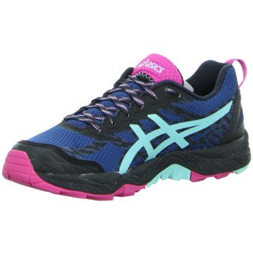 asics TrailrunningGEL-FujiTrabuco 5 Damen Trail-Runningschuhe blau pink blau