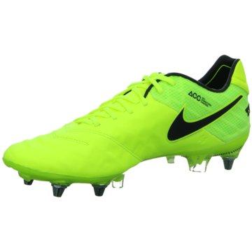 Nike Stollen-SohleTiempo Legend VI SG-PRO Herren Fußballschue Stollen gelb gelb