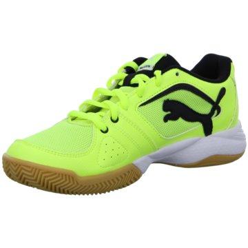 Puma Trainings- und Hallenschuh gelb
