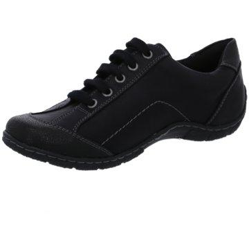 Supremo Komfort Schnürschuh schwarz