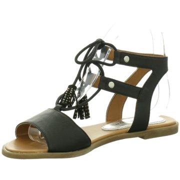 Supremo Top Trends Sandaletten schwarz