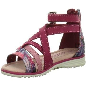 Tom Tailor Offene Schuhe pink