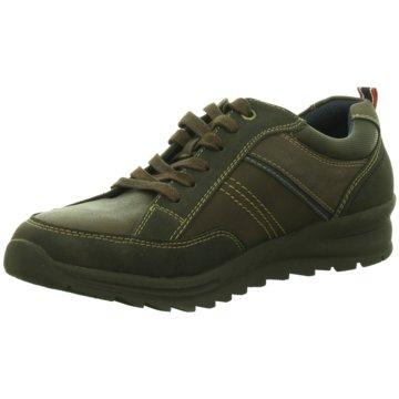 Hengst Footwear Klassischer Schnürschuh braun