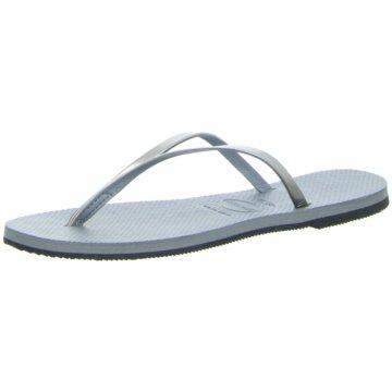 Havaianas Offene Schuhe grau