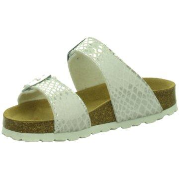 Longo Offene Schuhe silber