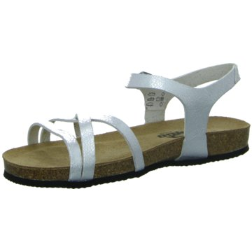 Longo Sandale silber