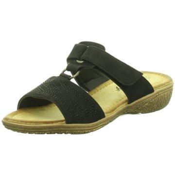 Hengst Footwear Komfort Pantolette schwarz