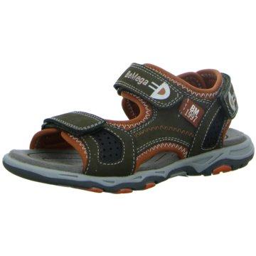 Supremo Offene Schuhe oliv
