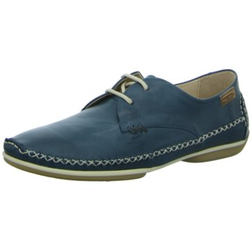 Pikolinos Komfort Schnürschuh blau