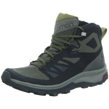 Salomon Outdoor SchuhOUTline Mid GTX - L40476300 schwarz