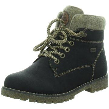 Rieker Kinder Teens, Girls Boots, Blue (14), 6 Child UK