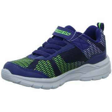 Skechers Sneaker LowS Lights Erupters II Lava Wave blau