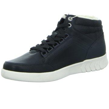 Tom Tailor Sneaker High schwarz
