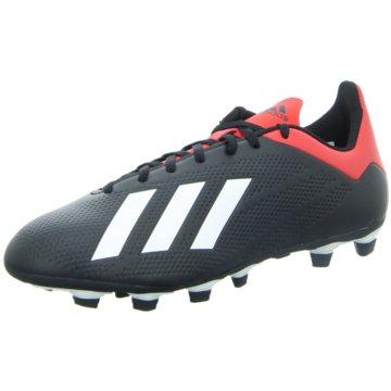 adidas Nocken-SohleX 18.4 FxG Fußballschuh - BB9375 schwarz