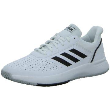 adidas Sneaker LowCOURTSMASH - F36718 weiß