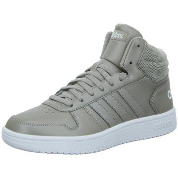 adidas Sneaker HighHoops 2.0 Mid grau