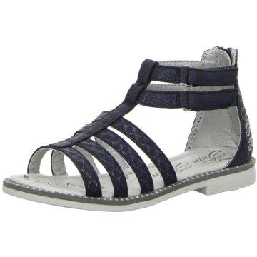 Tom Tailor Offene Schuhe blau