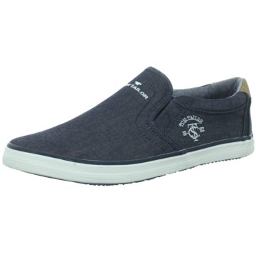 Supremo Slipper blau