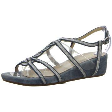 Alma en Pena Komfort Sandale blau