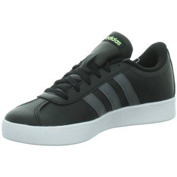 adidas Sneaker LowVL COURT 2.0 K - F36381 schwarz