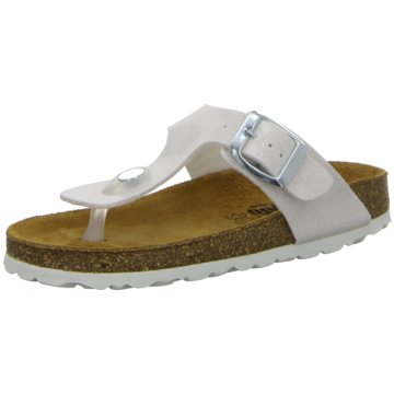 Longo Offene Schuhe weiß