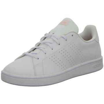 adidas Sneaker LowADVANTAGE BASE - EE7510 weiß