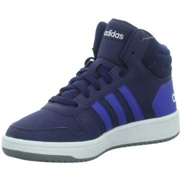 adidas Sneaker HighHoops Mid 2.0 K blau