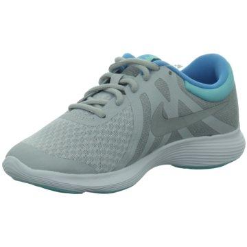 Nike Sneaker LowGIRLS' REVOLUTION 4 (GS) RUNNING - 943306-007 silber