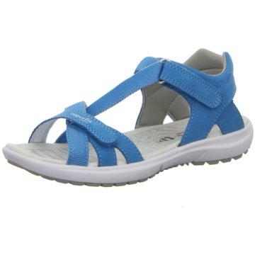 Superfit Offene SchuheRainbow blau