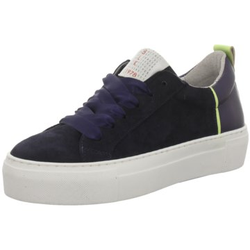 Idana Plateau Sneaker blau