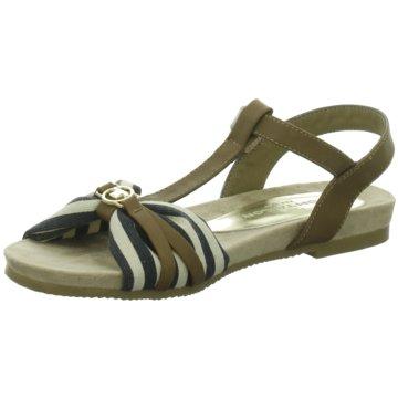 Tom Tailor Sandale blau