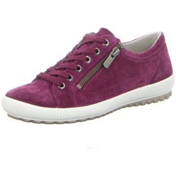 Legero Komfort SchnürschuhSneaker lila