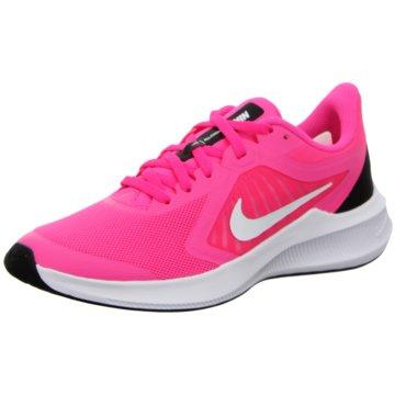 Nike Sneaker LowNike Downshifter 10 Big Kids' Running Shoe - CJ2066-601 pink
