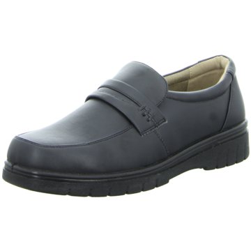 Oxford Business Slipper schwarz