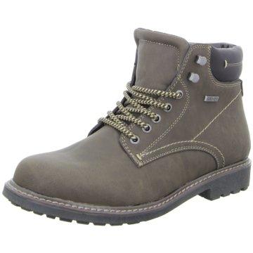 Montega Shoes & Boots Schnürboot grau