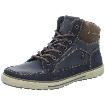 Montega Shoes & Boots Schnürboot blau
