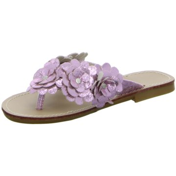 Pep Step Offene Schuhe lila