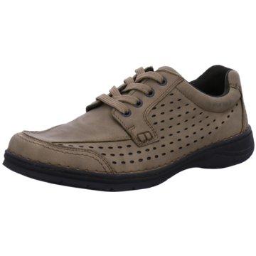 Montega Shoes & Boots Komfort Schnürschuh beige