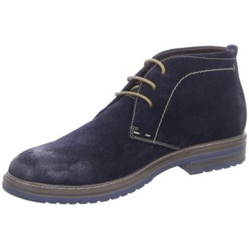 Montega Shoes & Boots Schnürstiefelette blau