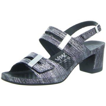 Vital Komfort Sandale grau