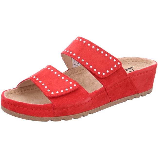 Ganter Sonnica Komfort-pantoletten Rot