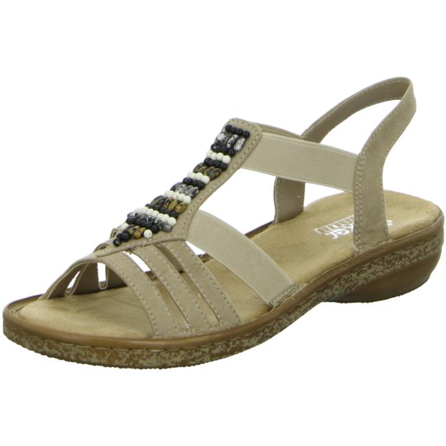 Rieker 62851 60 Beige sandals