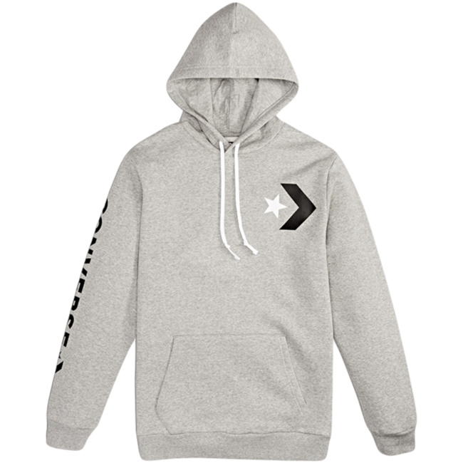 Converse Star Chevron Graphic hoodie white
