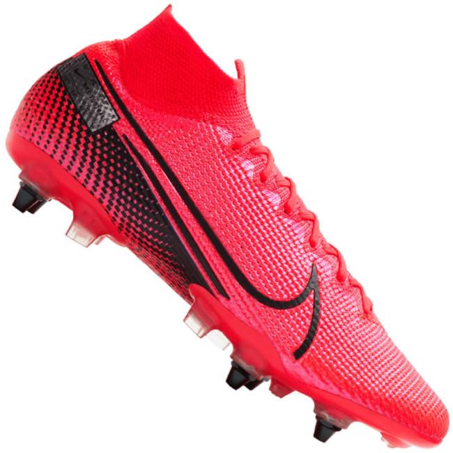 Nike Mercurial Superfly V DF SG Pro AC Herren Fußballschuhe Stollen rot Stollen Sohle