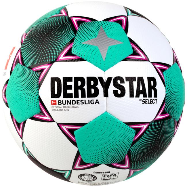 Derbystar FB-BL Futsal BRILLANT APS Weiss