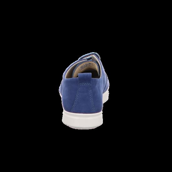 Damen blau 205003 01325 Sportliche Schnürschuhe von Ecco
